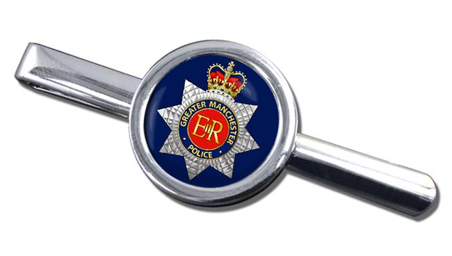 Greater Manchester Police Round Tie Clip
