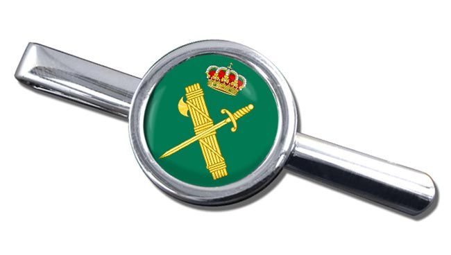 Guardia Civil Round Tie Clip