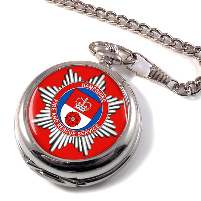 Hampshire Fire and Rescue Service Pocket Watch