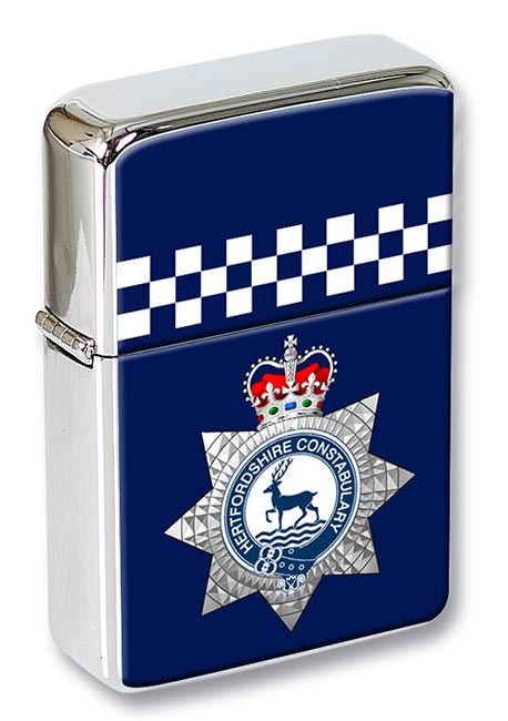 Hertfordshire Constabulary Flip Top Lighter