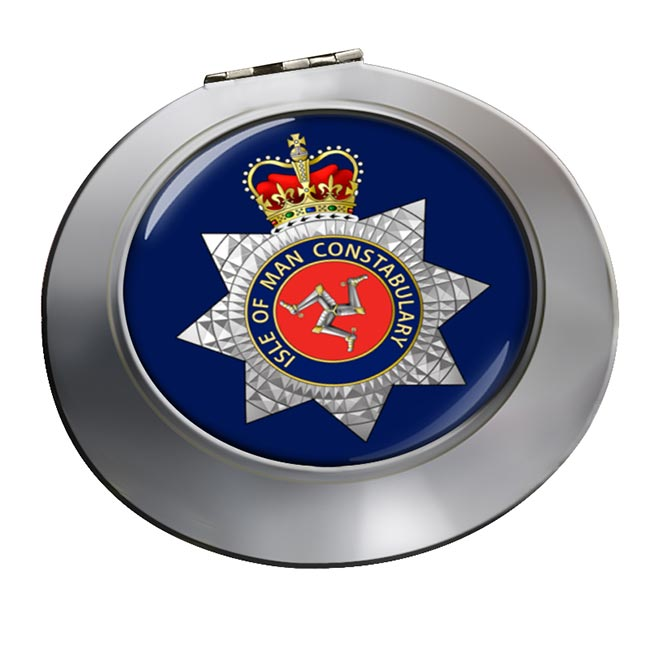 Isle of Man Constabulary Chrome Mirror