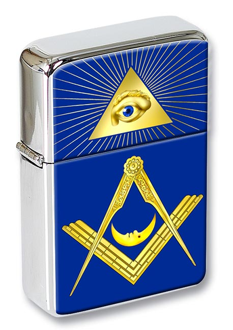 Masonic Lodge Junior Deacon Flip Top Lighter