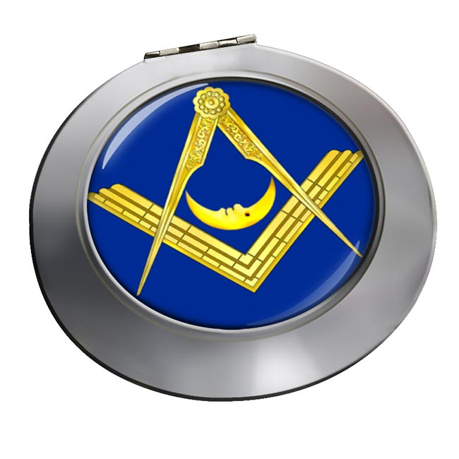 Masonic Lodge Junior Deacon Chrome Mirror