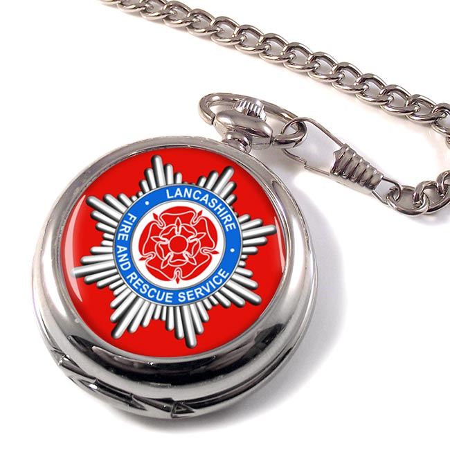 Lancashire Fire and Rescue Service Pocket Watch