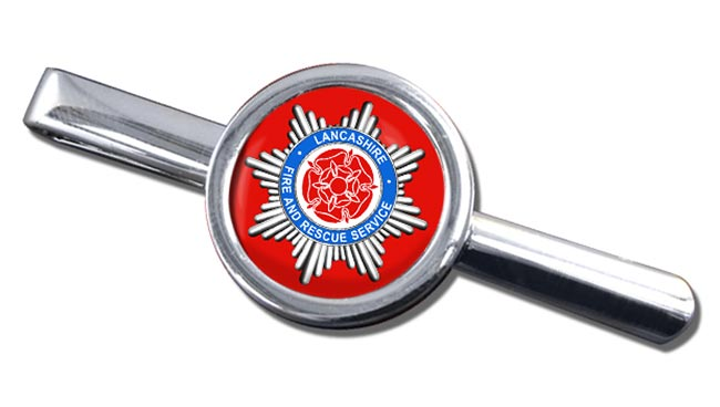 Lancashire Fire and Rescue Service Round Tie Clip