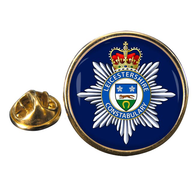 Leicestershire Constabulary Round Pin Badge