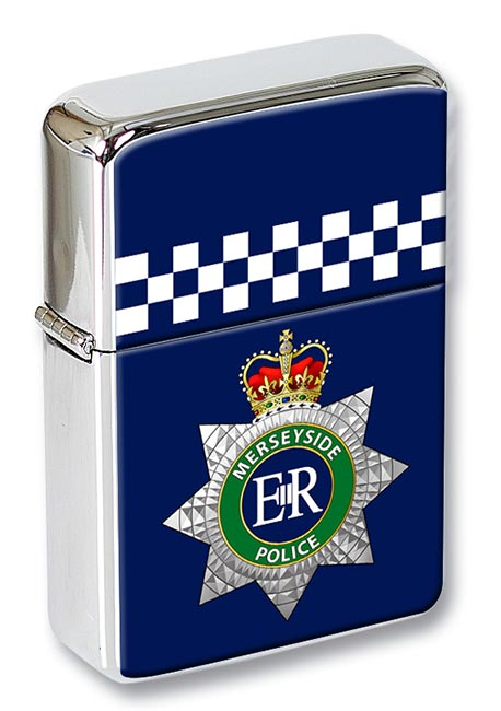 Merseyside Police Flip Top Lighter