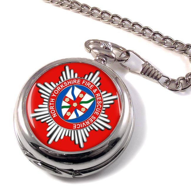 North Yorkshire Fire and Rescue Service Pocket Watch