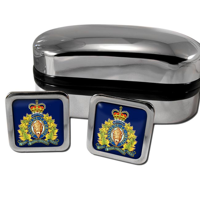 RCMP Square Cufflinks