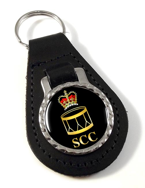 SCC Drummer Leather Key Fob