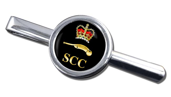 SCC Piping Round Tie Clip