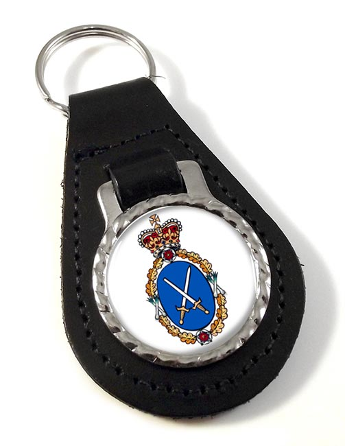 High Sheriff Leather Key Fob