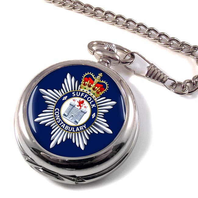 Suffolk Constabulary Pocket Watch