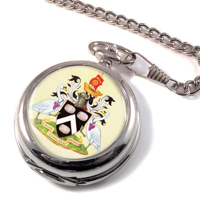 Swan Upping Pocket Watch