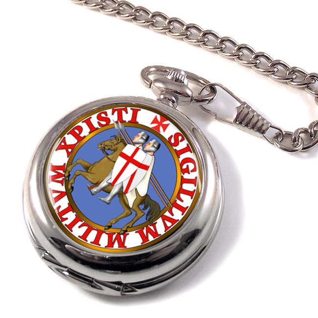 Knights Templar Seal Pocket Watch