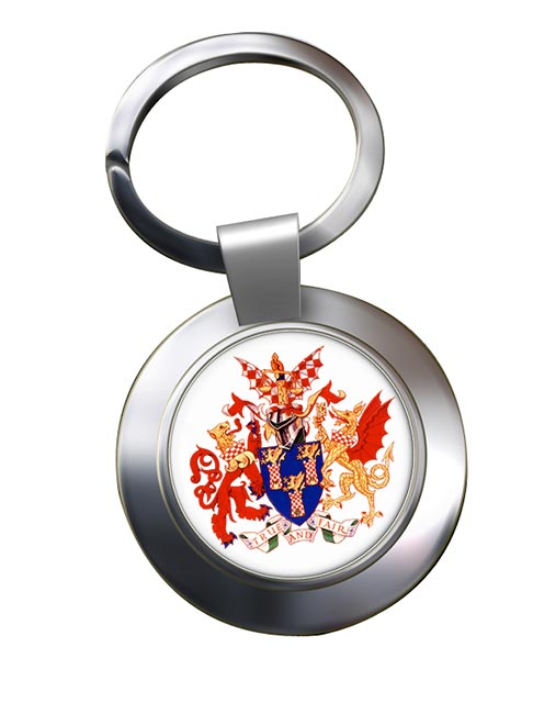 Worshipful Company of Chartered Accountants Chrome Key Ring