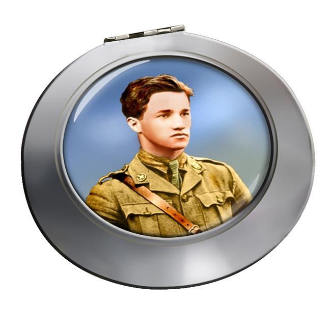 Albert Ball Chrome Mirror