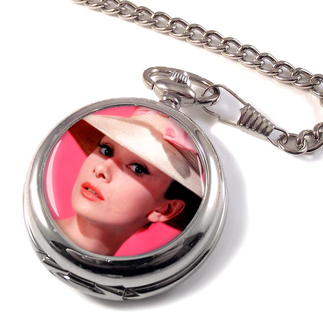 Audrey Hepburn Pocket Watch