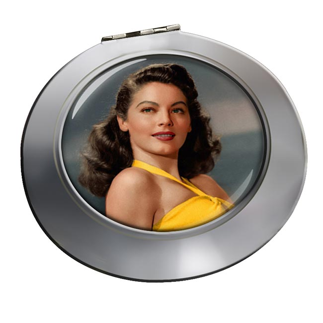 Ava Gardner Chrome Mirror