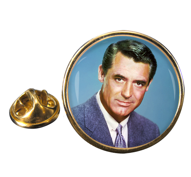 Cary Grant Round Pin Badge