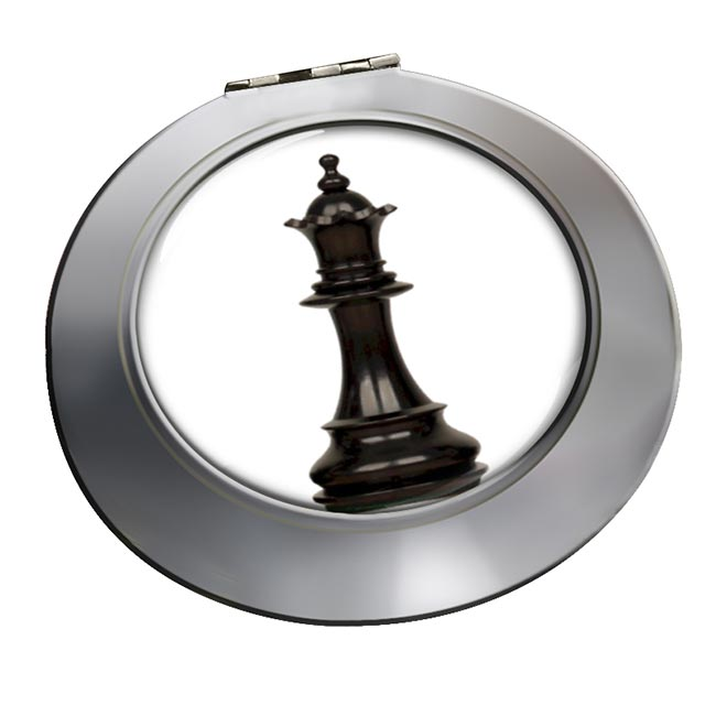 Chess Queen Chrome Mirror