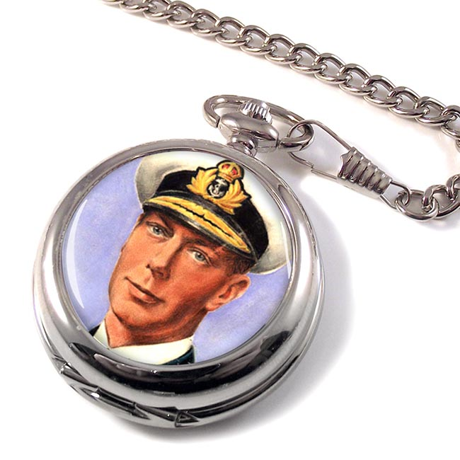 King George VI of Great Britain Pocket Watch