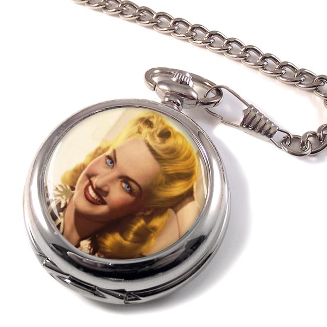 Betty Grable Pocket Watch