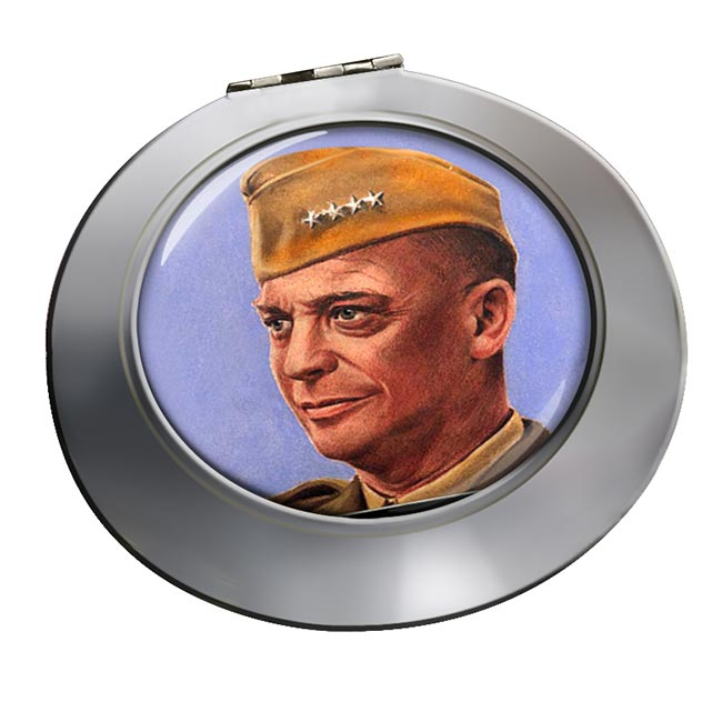 General Eisenhower Chrome Mirror