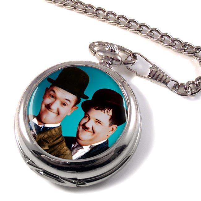 Laurel and Hardy Pocket Watch