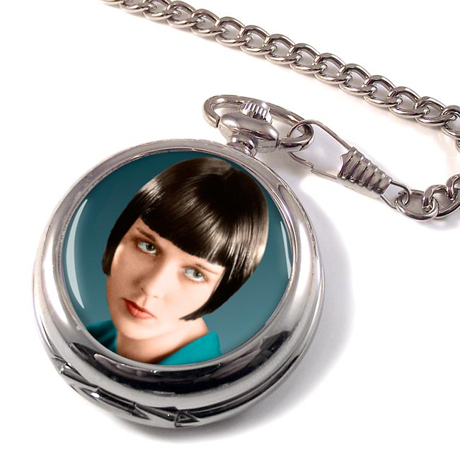 Louise Brooks Pocket Watch