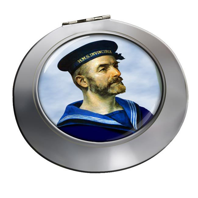 Royal Navy Sailor Chrome Mirror