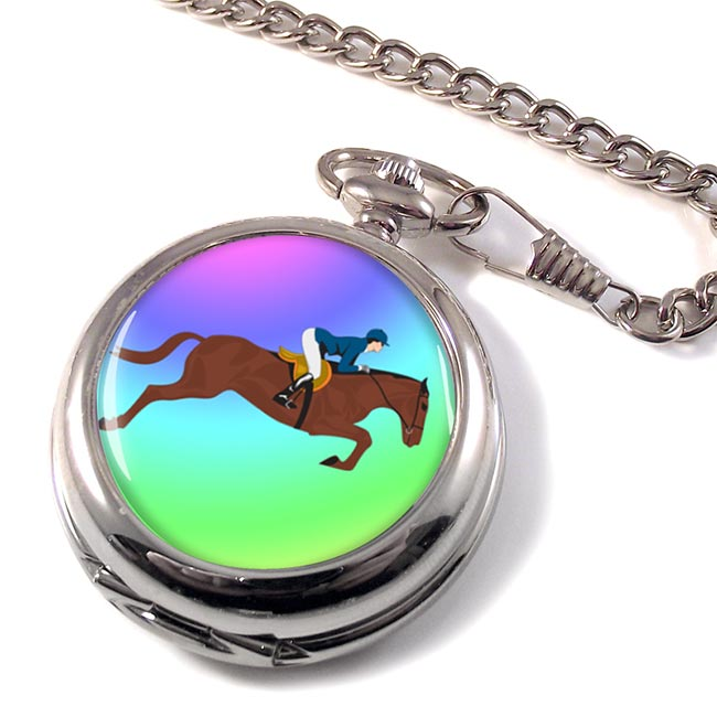 Show Jumper Pocket Watch