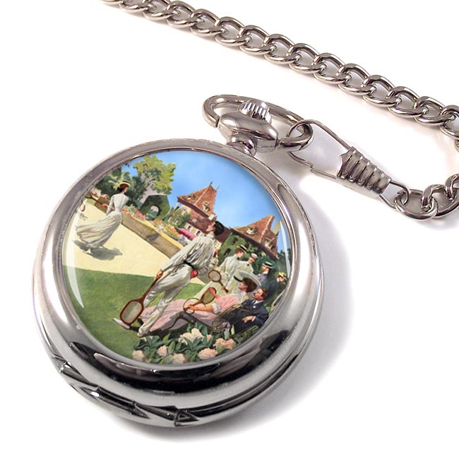 Tennis Pocket Watch