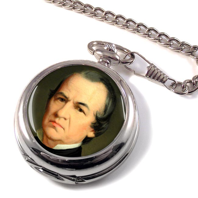 President Andrew Johnson Pocket Watch