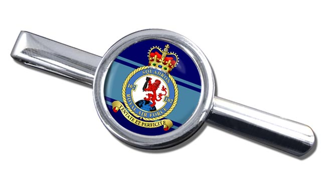 No. 102 Squadron (Royal Air Force) Round Tie Clip
