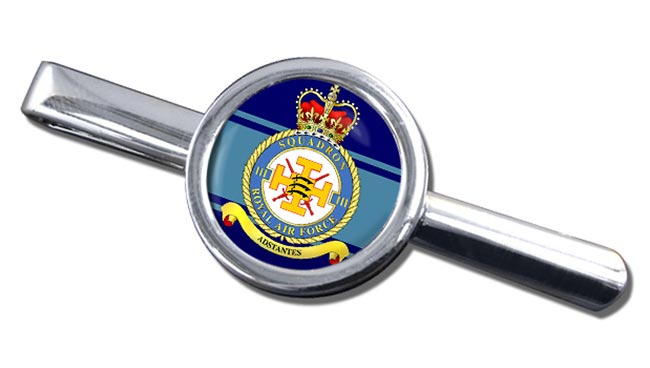 No. 111 Squadron (Royal Air Force) Round Tie Clip