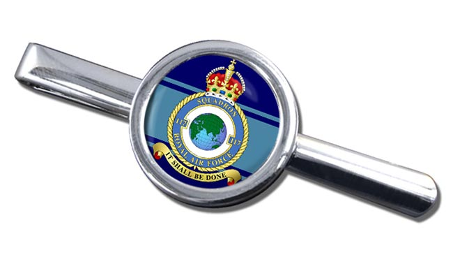 No. 117 Squadron (Royal Air Force) Round Tie Clip