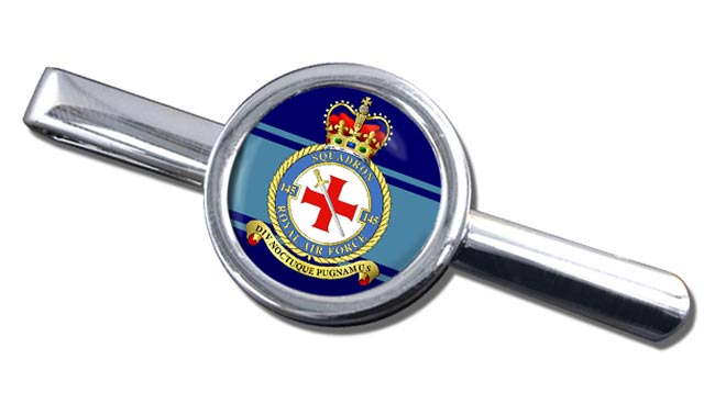 No. 145 Squadron (Royal Air Force) Round Tie Clip