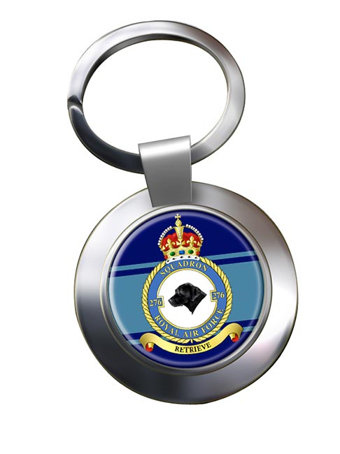 No. 276 Squadron (Royal Air Force) Chrome Key Ring