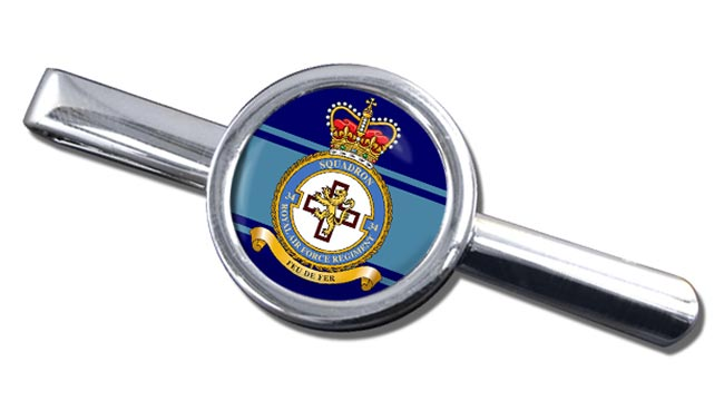 Royal Air Force Regiment No. 34 Round Tie Clip