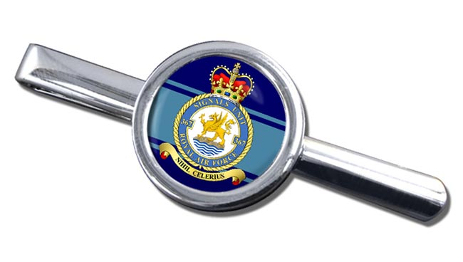 No. 367 Signals Unit (Royal Air Force) Round Tie Clip