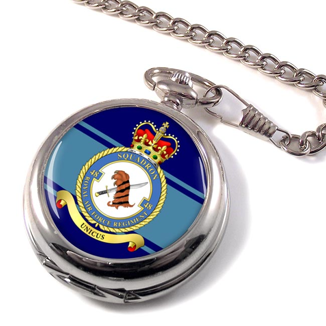 Royal Air Force Regiment No. 48 Pocket Watch