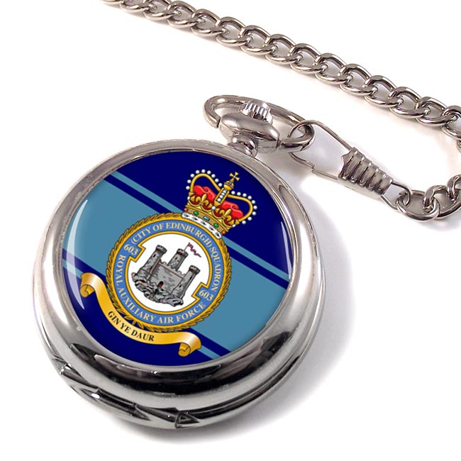 No. 603 Squadron RAuxAF Pocket Watch