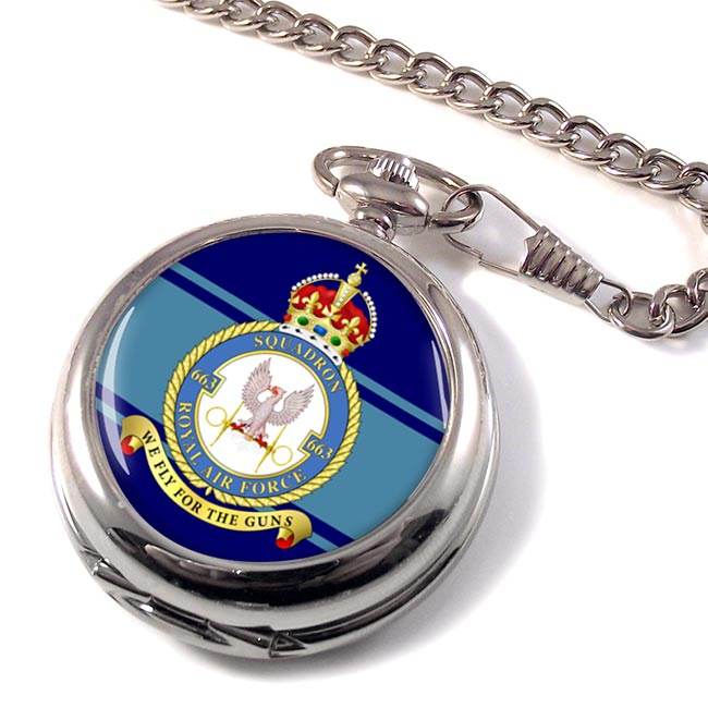 No. 663 Polish Squadron (Royal Air Force) Pocket Watch