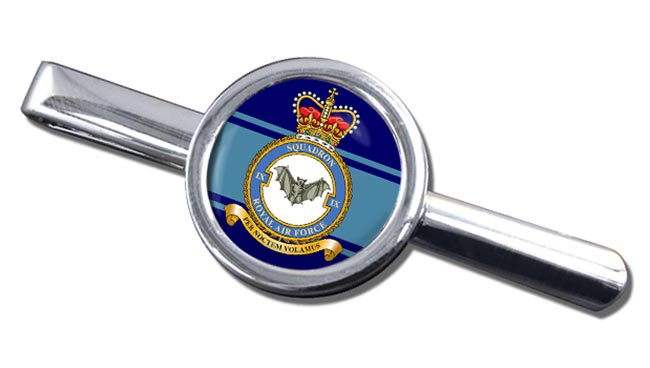 No. 9 Squadron (Royal Air Force) Round Tie Clip