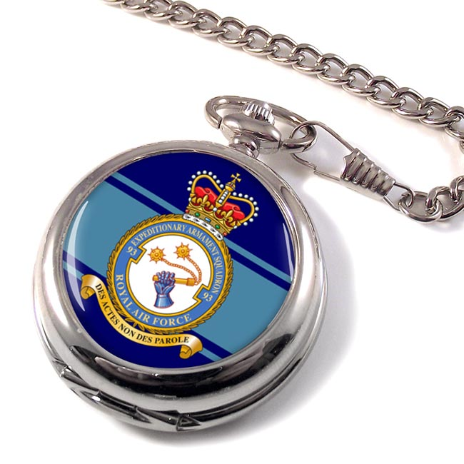 No. 93 Expeditionary Armament Squadron (Royal Air Force) Pocket Watch