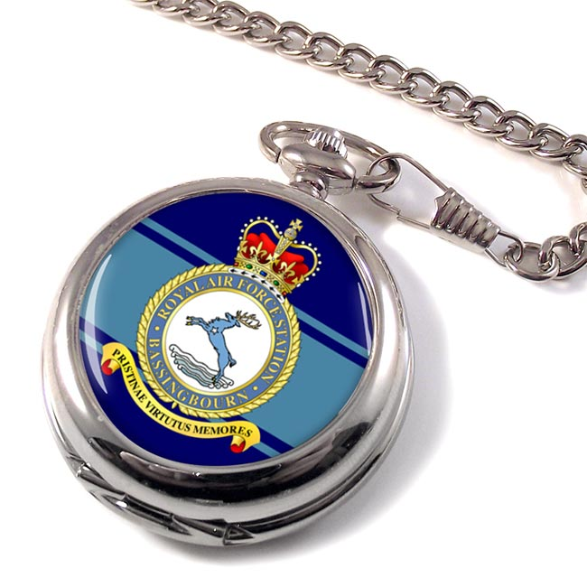 RAF Station Bassingbourn Pocket Watch