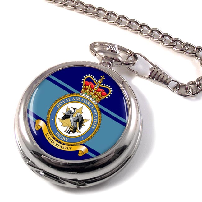 RAF Station Digby Pocket Watch