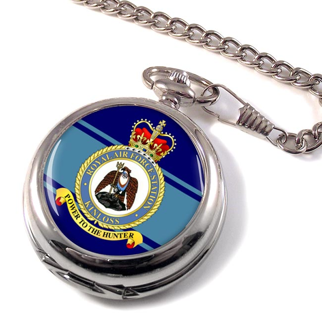 RAF Station Kinloss Pocket Watch