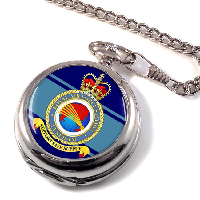RAF Station Lyneham Pocket Watch